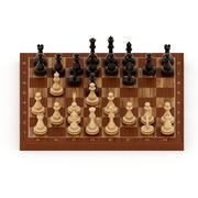 gioco di scacchi 3d model