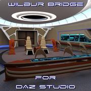 Wilbur Bridge for DAZ Studio 3d model