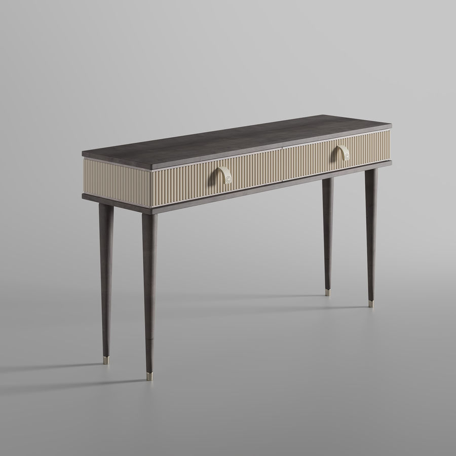 Cipriani Homood Cocoon Console royalty-free 3d model - Preview no. 3