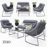 Mobiliário de exterior ZUO 3d model