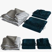 Blanket collection 04 3d model