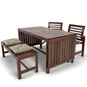 meble ogrodowe APPLARO Ikea 3d model