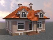 3D House Cottage 3d model