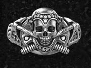 Pierścień czaszki 2 3d model