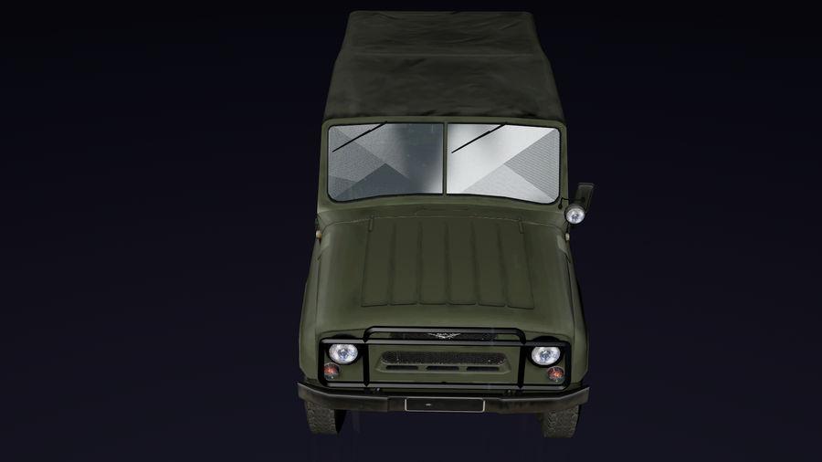 UAZ royalty-free 3d model - Preview no. 4