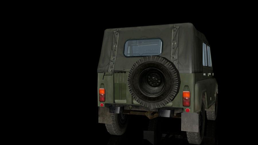 UAZ royalty-free 3d model - Preview no. 2