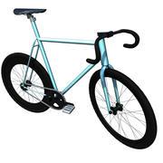 Race fiets 3d model