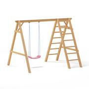 Kinderen zwaaien met een ladder 3D-model 3d model