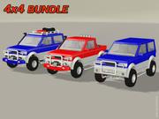 4x4 Bundle 3d model