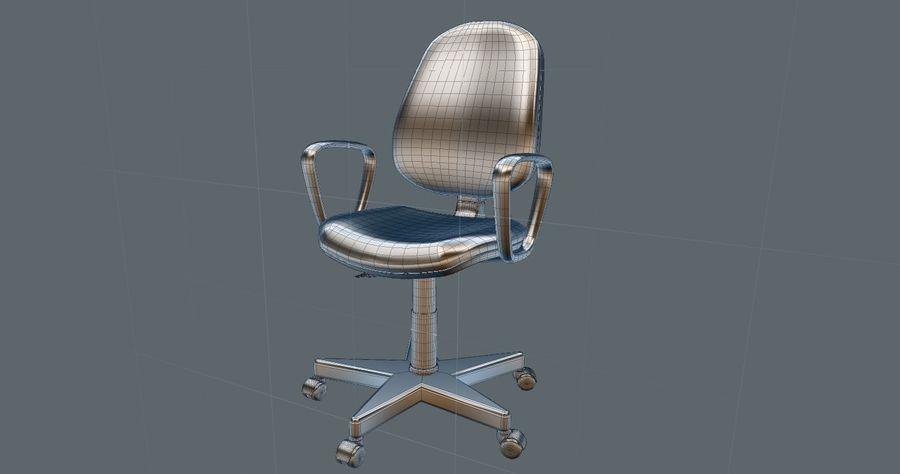 Schreibtisch und Stuhl royalty-free 3d model - Preview no. 7