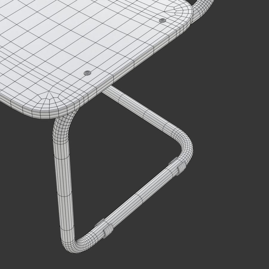 Banco e sedia della scuola royalty-free 3d model - Preview no. 22