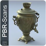 古いお茶urn_hi 3d model