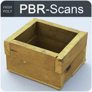 wood box_hi 3d model