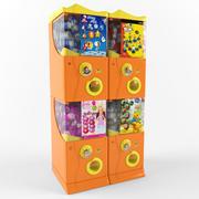 自動販売機 3d model