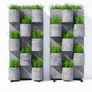 Сад где-нибудь один 3d model