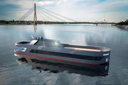 ボート水中翼 3d model