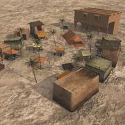 Middle East Market for Vue 3d model