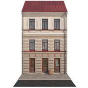 역사적인 건물의 외관 3d model