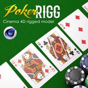 Poker RIGG 3d model