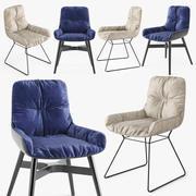 FreiFrau Leya扶手椅低 3d model