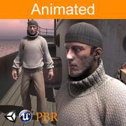 Character Sailor 3d model