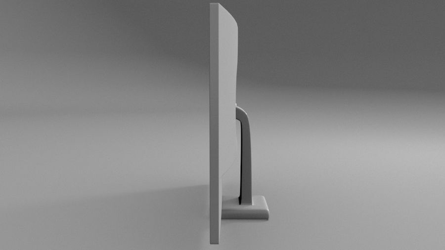 PC-Monitor (Low Poly) royalty-free 3d model - Preview no. 6