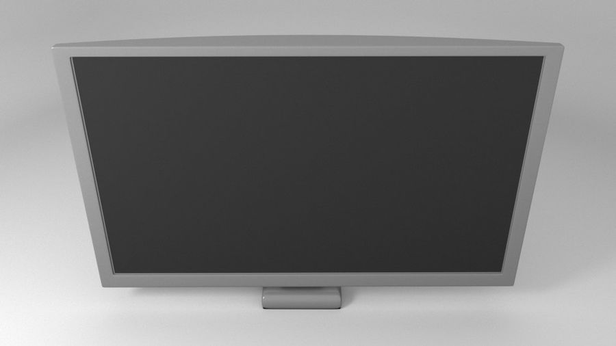 PC-Monitor (Low Poly) royalty-free 3d model - Preview no. 5