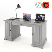 Ikea Liatorp Schreibtisch 3d model