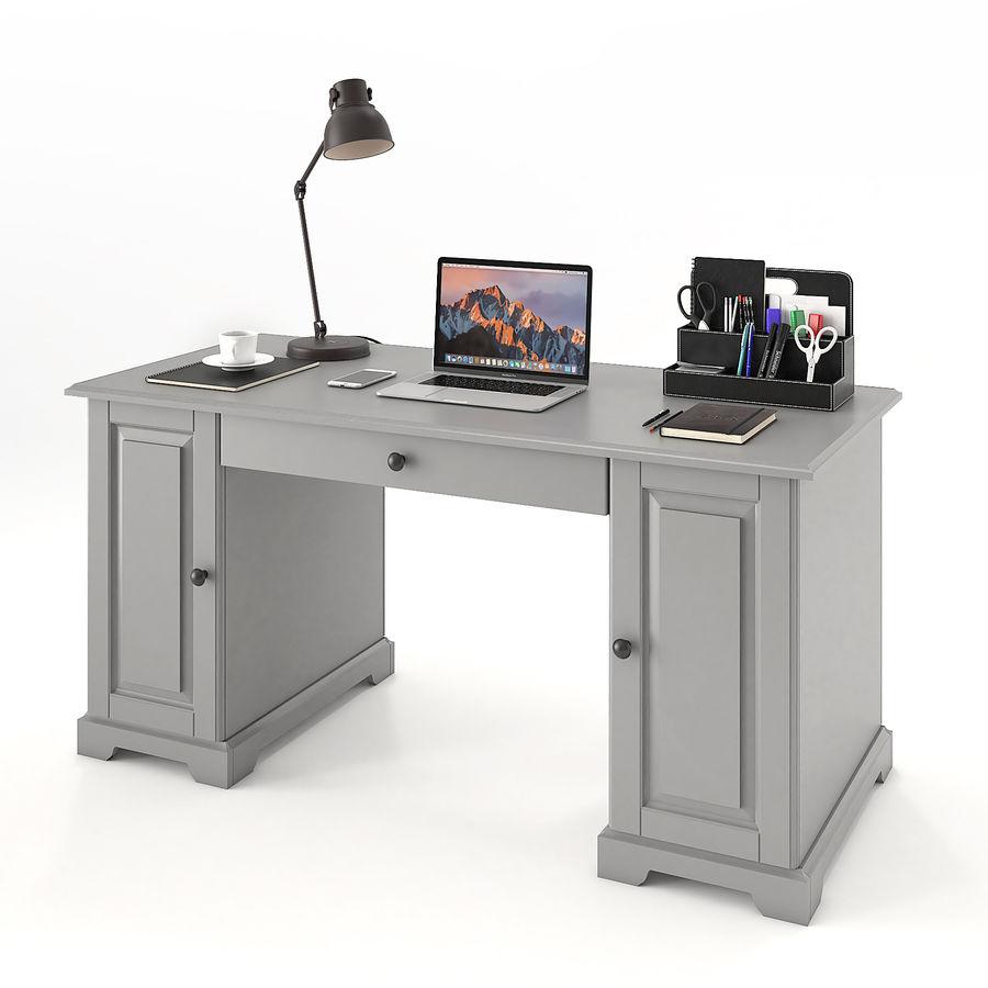 Ikea Liatorp Schreibtisch royalty-free 3d model - Preview no. 5