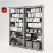 Ikea Liatorp Bücherregal 3d model