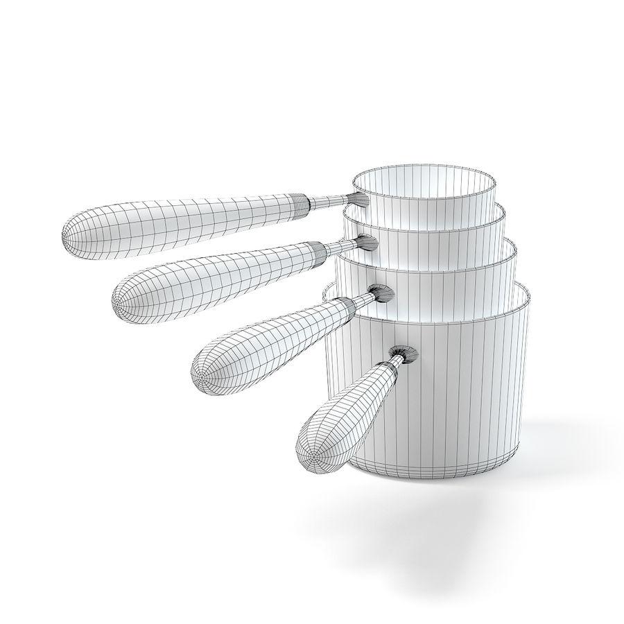 Bakır Kaplar 3D Model royalty-free 3d model - Preview no. 4