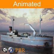 Nave da carico 3d model