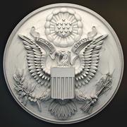 Grand sceau des USA pour une imprimante 3D 3d model