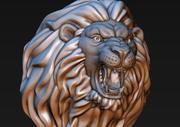 狮子头(可进行3D打印) 3d model