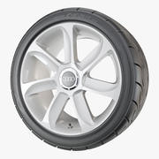 Performance Car Wheel 3d model