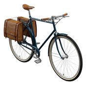 2つのバージョンのクラシック自転車 3d model