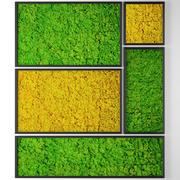 Stabilized moss 3d model