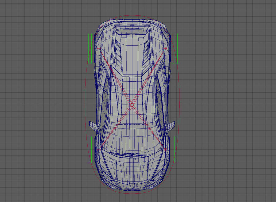 Race_Car_Rig royalty-free 3d model - Preview no. 11