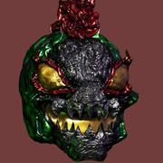 외계인 몬스터 헤드 3d model