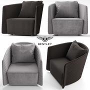 버터 플라이 안락 의자 3d model