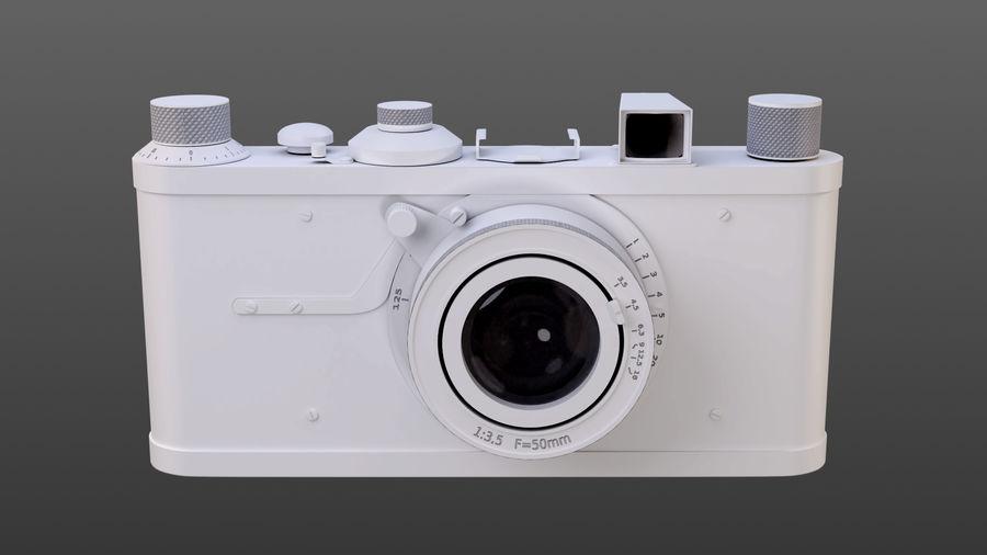 Vecchia macchina fotografica royalty-free 3d model - Preview no. 1