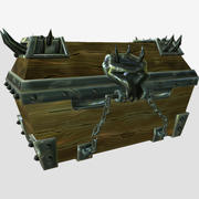 Magic chest 3d model