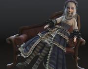 Antique Doll 3d model