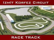 Race Track - izmit Korfez Circuit 3d model