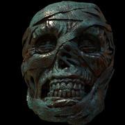 Mumienskulptur für den 3D-Druck 3d model