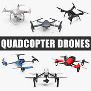 Quadcopter 드론 컬렉션 3d model