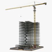 建筑施工2 3d model