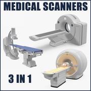 Medische scanners collectie 3d model