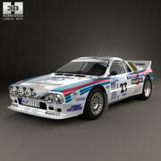 Lancia Rally 037 WRC 그룹 B 1983 3d model