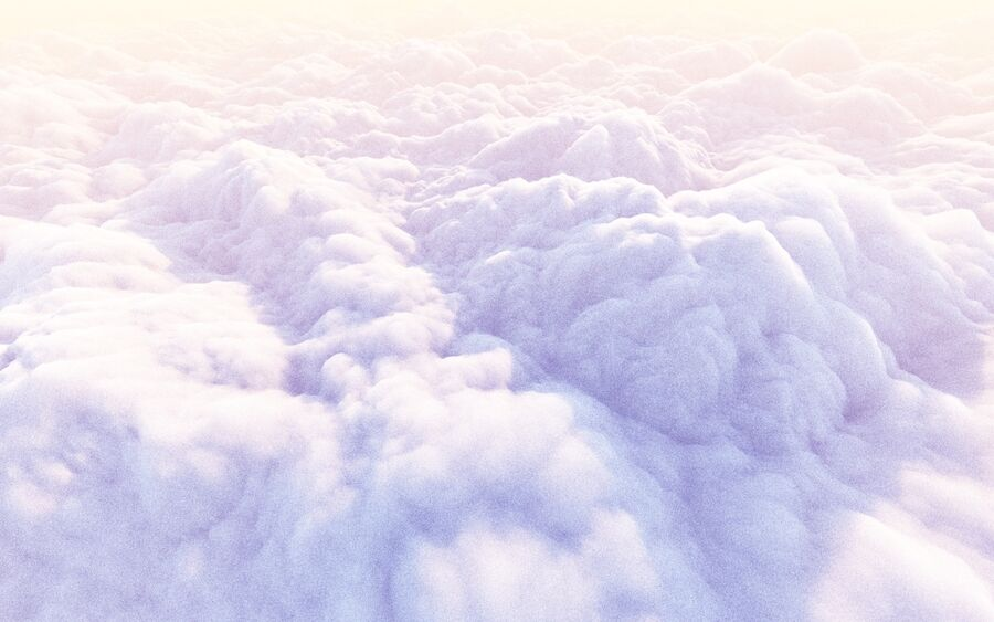 Pack animé de nuages 3D 15 royalty-free 3d model - Preview no. 8